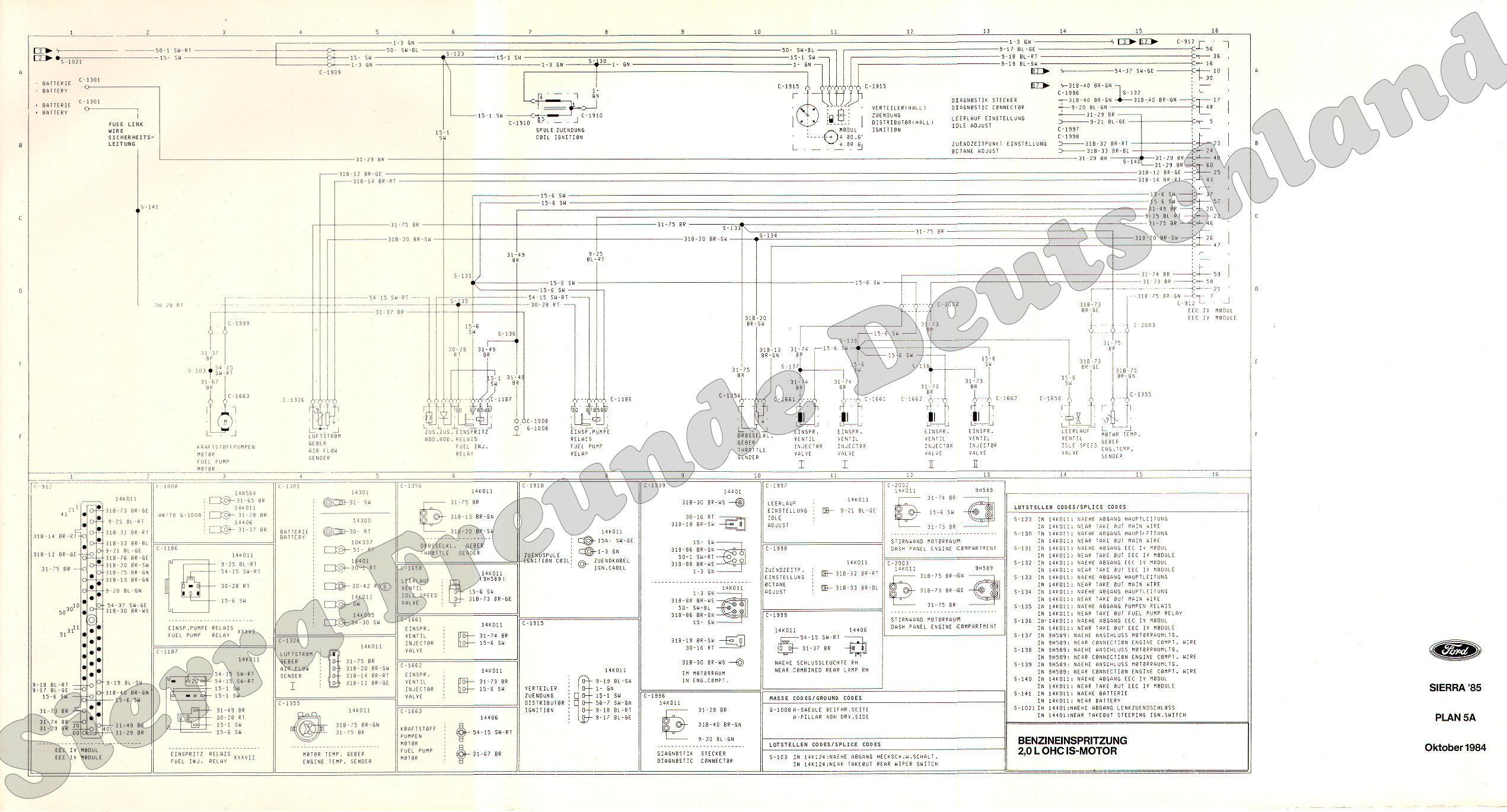 Zurück Schaltpläne Sierra 85 Beschreibung Plan Erklärungen 1 ...